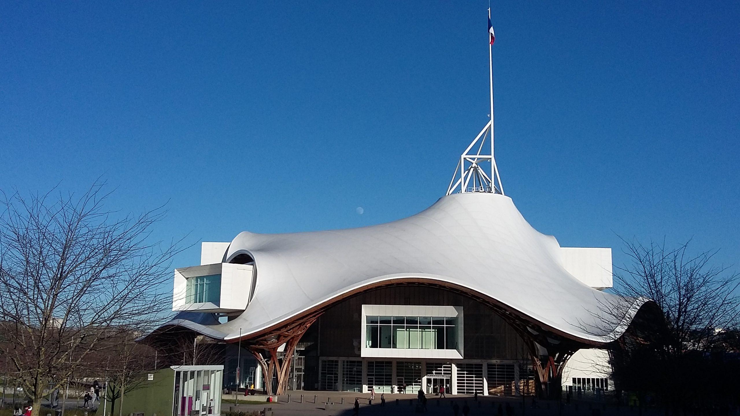 Centre Pompidou Metz, derrière la gare, face palais des Congrès